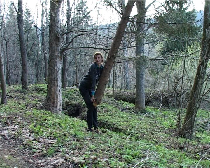 Našla v lese