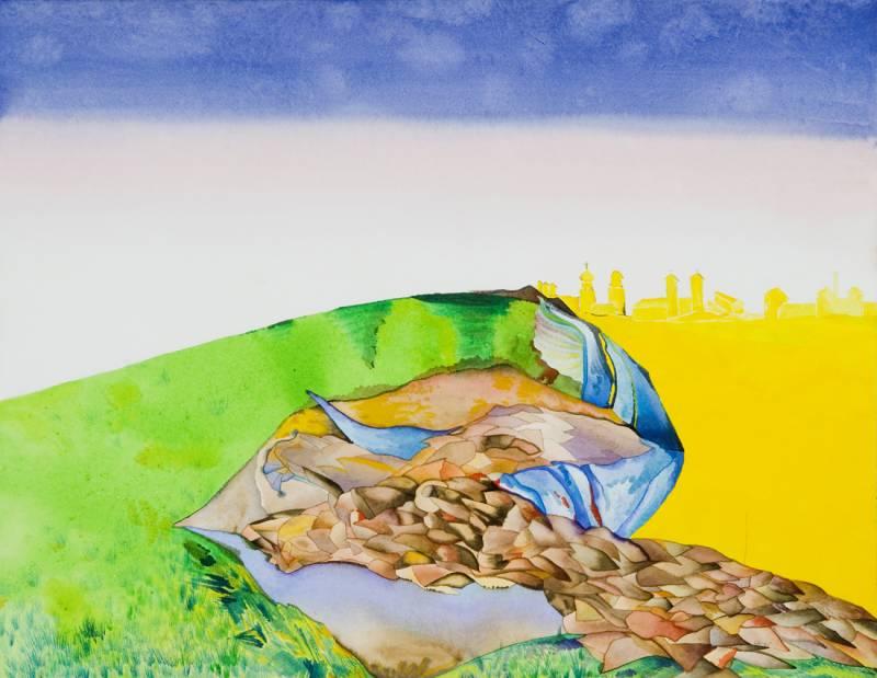 Lubenice – Yellow Town
