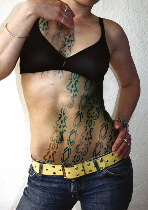 Z cyklu Tetování