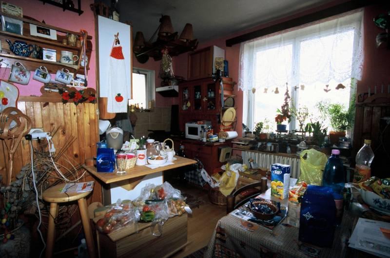 Z cyklu Vlevo nahoře, vpravo dole: Janečkovi, U Půjčovny 4, Praha 1